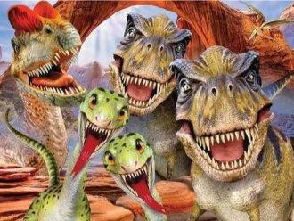 Imagem - Quebra Cabeça Selfie Dino 100 peças cód: F57908