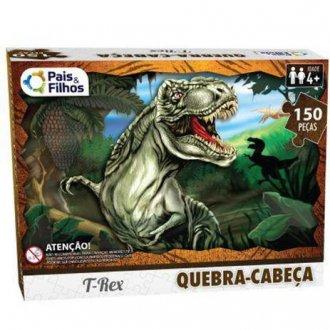 Imagem - Quebra Cabeça T-Rex 150 peças cód: F58905