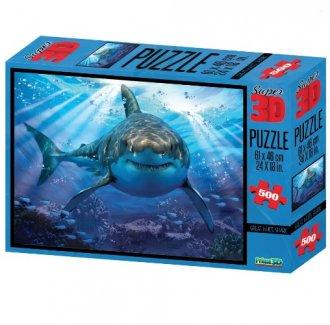 Imagem - Quebra Cabeça Tubarão cód: F58314