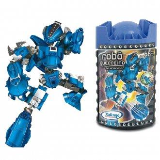 Imagem - Robô Guerreiro Blue Armor cód: P50414