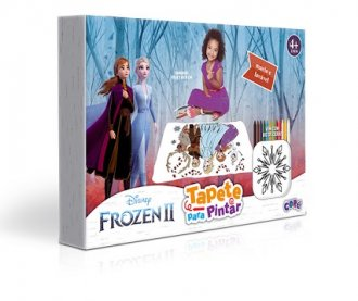 Imagem - Tapete para Pintar Frozen II cód: F59710