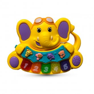Imagem - Teclado Elefante musical Zoop Toys cód: 42563