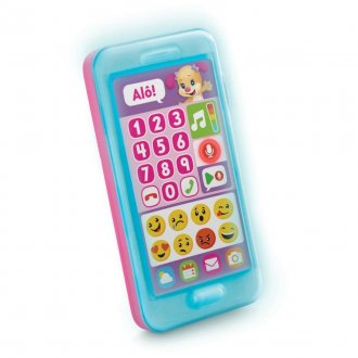 Imagem - Telefone Emojis Fisher Price cód: P36225