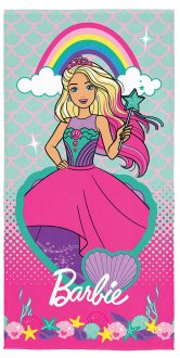 Imagem - Toalha Aveludada Barbie cód: F60364