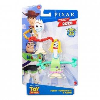 Imagem - Toy Story 4 Boneco Forky e Karen - Mattel cód: F63943
