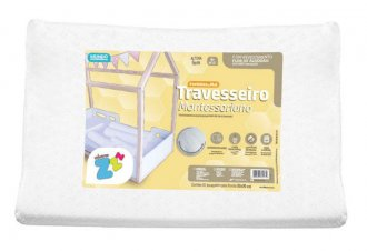 Imagem - Travesseiro Montessoriano Favinhos De Mel Lavável - Fibrasca cód: 42900