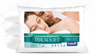 Imagem - Travesseiro Trisoft Percal cód: P7684