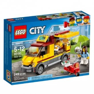 Imagem - Van de Entrega de Pizzas Lego cód: P49371