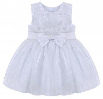Imagem - Vestido Branco Barbara Kids cód: P1093