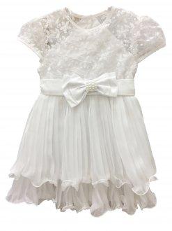 Imagem - Vestido Branco Barbara Kids cód: P1097