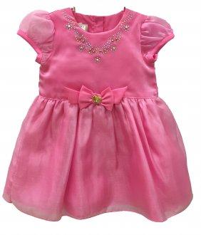 Imagem - Vestido Rosa Gira Baby cód: P1086