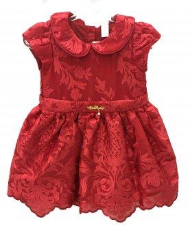 Imagem - Vestido Vermelho Gira Baby cód: P1087