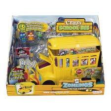 Imagem - Zomlings Playset Ônibus Zombie cód: P52758