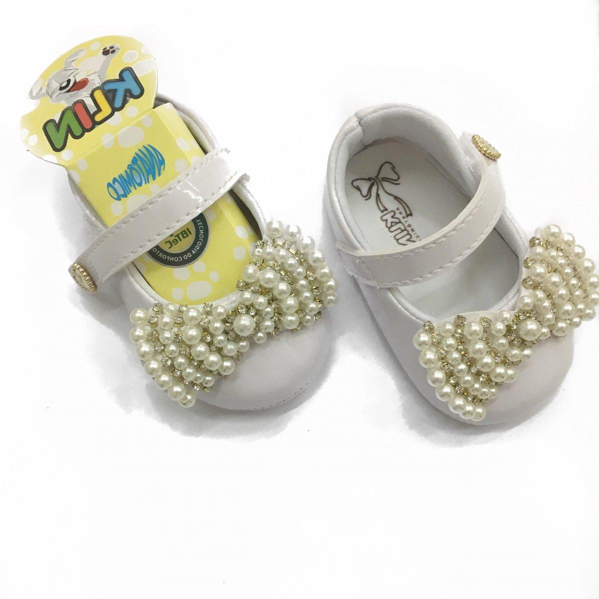 2ca9f69905 Sapato Branco Pimpolho