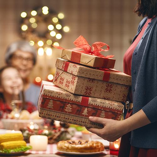 Dicas para presentear quem você ama no Natal