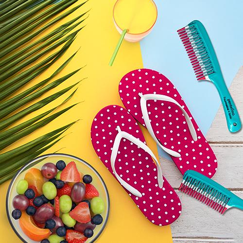Alimentação ideal para manter os cabelos saudáveis no verão