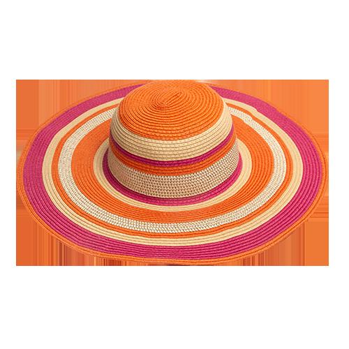 Dica  O chapéu de praia com listras combina muito bem com a bolsa de praia  metalizada com listras pretas. Look de arrasar! ee867f02c92