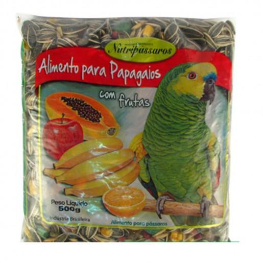 Mistura Nutripássaros Frutas para Papagaios 500g