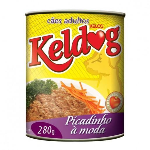 Alimento Úmido Para Cães Keldog Sabor Picadinho 280g