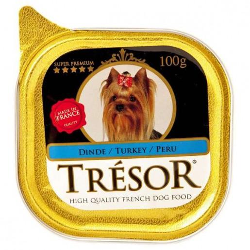 Alimento Úmido Para Cães Trésor Peru 100g