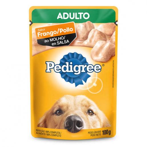 Alimento Úmido Pedigree Sachê Frango ao Molho Cachorros Adultos 100g