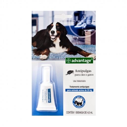 Antipulgas Advantage Bayer Cães e Gatos acima de 25Kg - 4,0ml