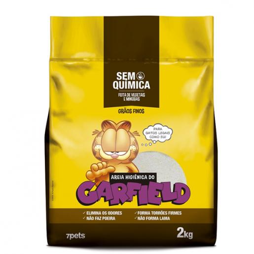 Areia Sanitária do Garfield Clássica Dbest 2kg