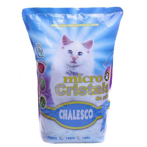 Areia Sanitária Micro Cristais Silica Gel Chalesco 1,8kg