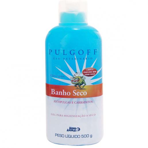 Banho a Seco Antipulgas e Carrapatos Pulgoff 500g