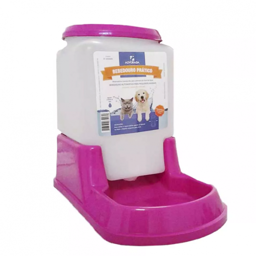 Bebedouro Automático Alvorada Cães e Gatos 3 Litros