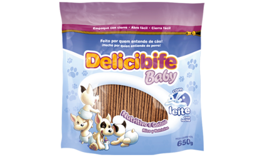 Bifinho Delicibife Baby com Leite 650g