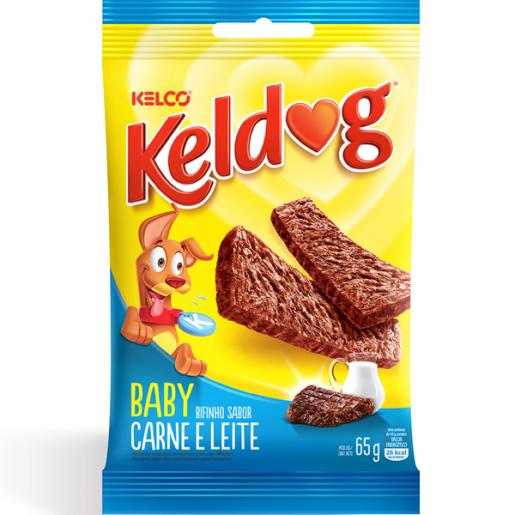 Bifinho Keldog Baby Carne e Leite 65g