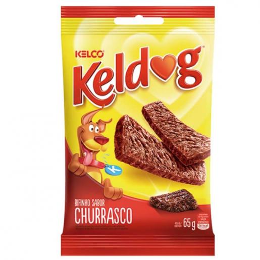 Bifinho Keldog Sabor Churrasco 65g