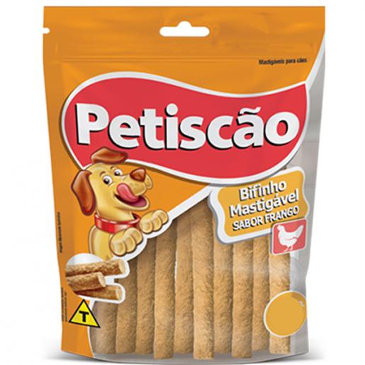 Bifinho Palito Petiscão Cachorros Frango 250g