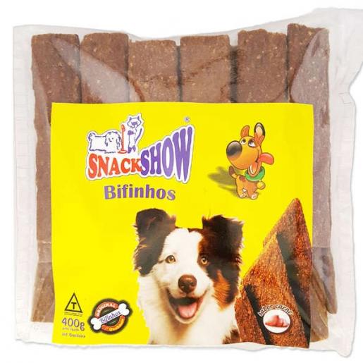 Bifinho Snack Show Sabor Frango 400g