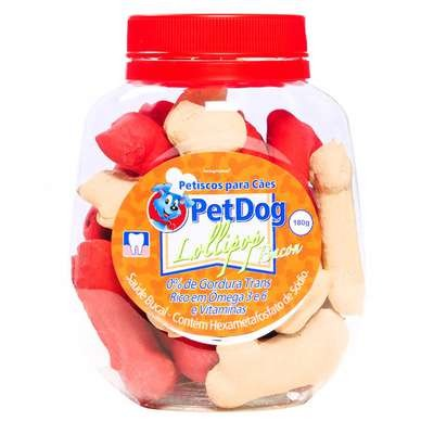 Biscoito Lolly Pop PetDog 180g