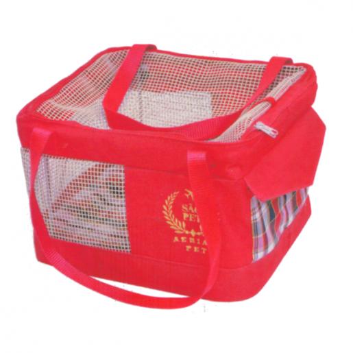 Bolsa Aerial Pet Companhia Aérea Avianca Vermelha