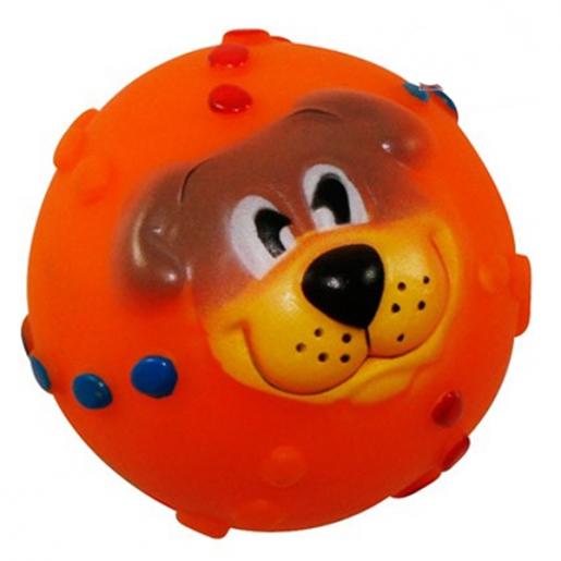 Brinquedo Bola Cachorro em Vinil São Pet