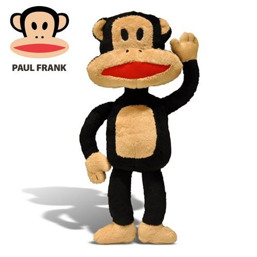 Brinquedo Importado Pelúcia Paul Frank Para Cães 22cm
