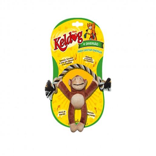 Brinquedo Keldog Macaco com Corda Tamanho 25cm