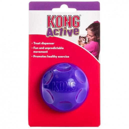 Brinquedo Kong Active Treat Ball Porta Petiscos
