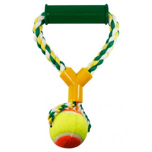 Brinquedo Mordedor Bola e Alça