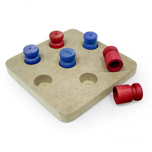 Brinquedo Para Cães Jogo Interativo Resta Um