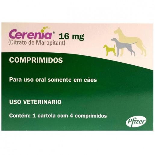 Cerenia 16mg Para Cães 4 Comprimidos
