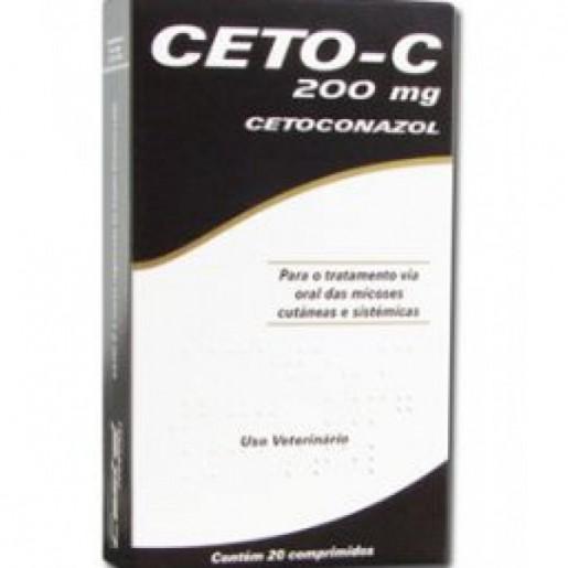 Ceto-C Cetoconazol Antifúngico 20 Comprimidos 200mg