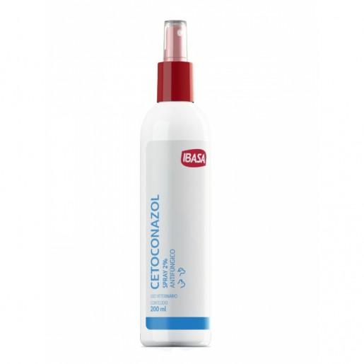 Cetoconazol Antifúngico Spray 2% Ibasa 200ml
