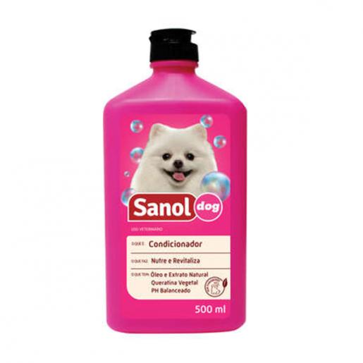 Condicionador Revitalizante Sanol Dog 500ml