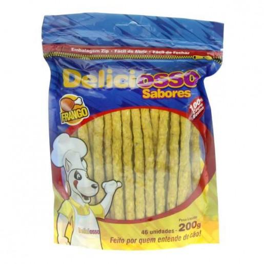 Deliciosso Cães Palito Fino Frango 200g