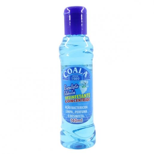 Desinfetante Concentrado Coala Eucalipto Glóbulos 140ml