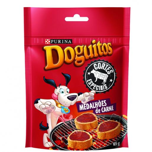 Doguitos Cortes Especiais Medalhões de Carne 65g